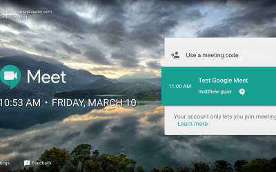 How to present in Google Meet