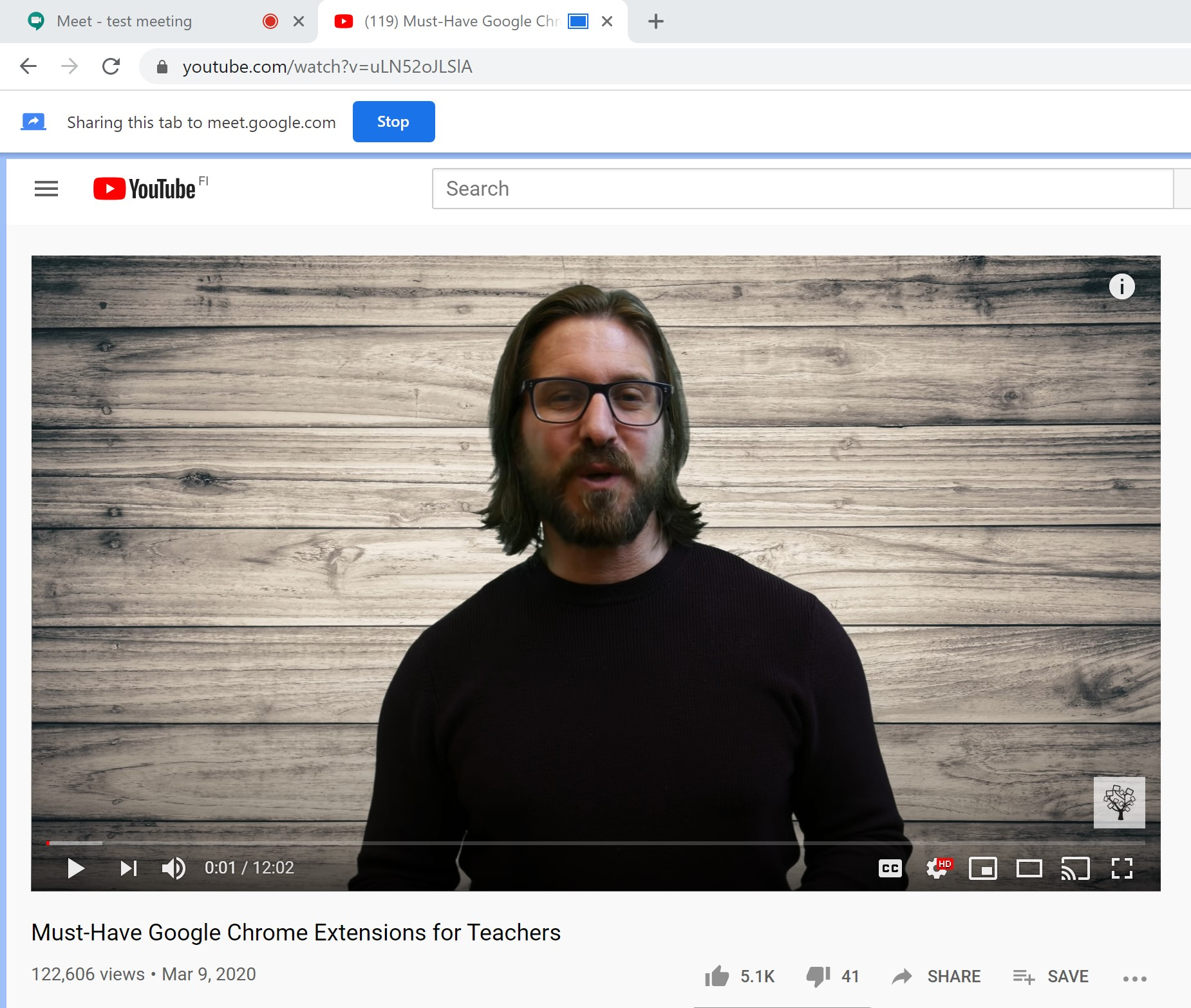 Google Meet Video quality