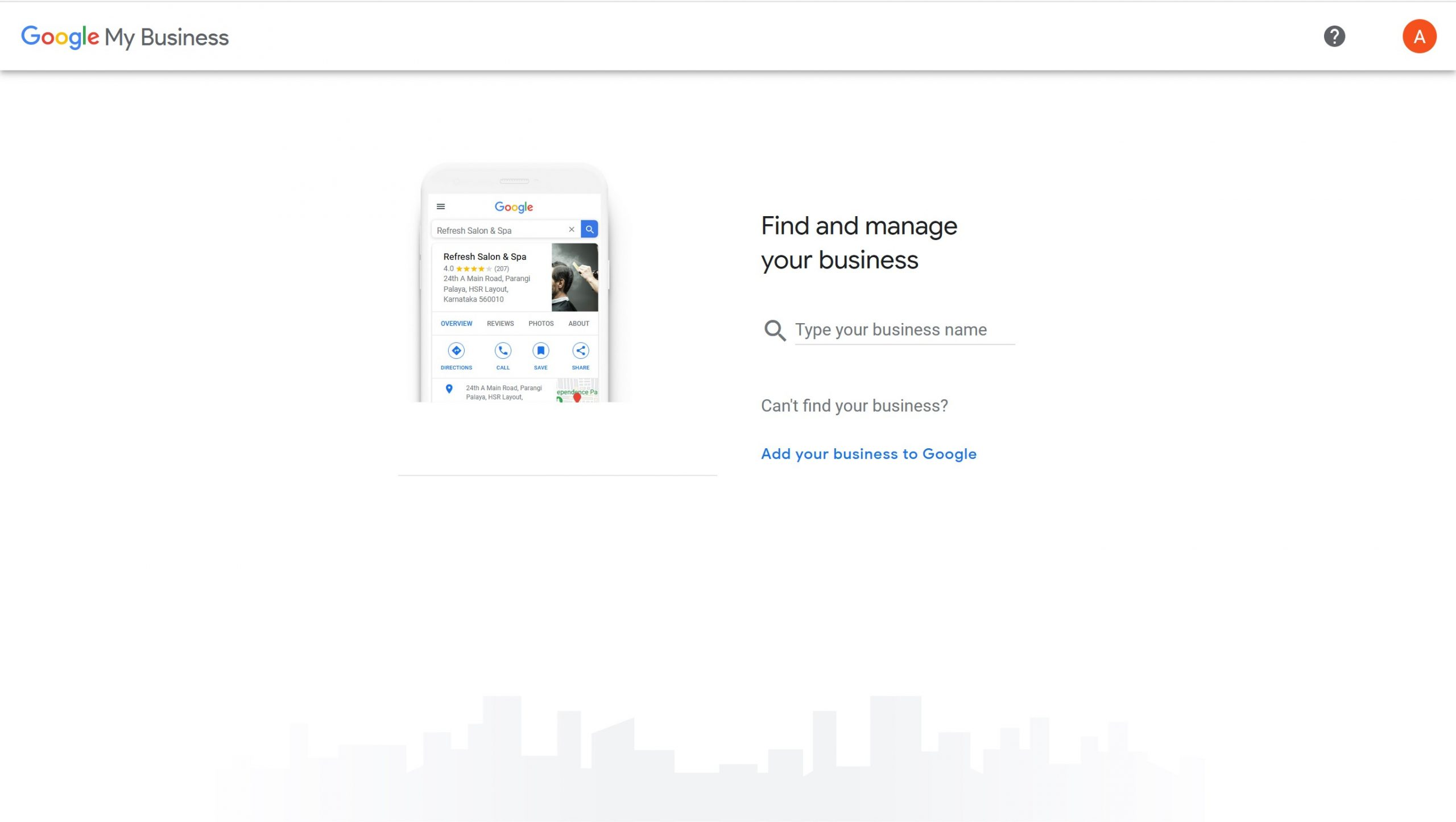 Google Business Profile Step 2