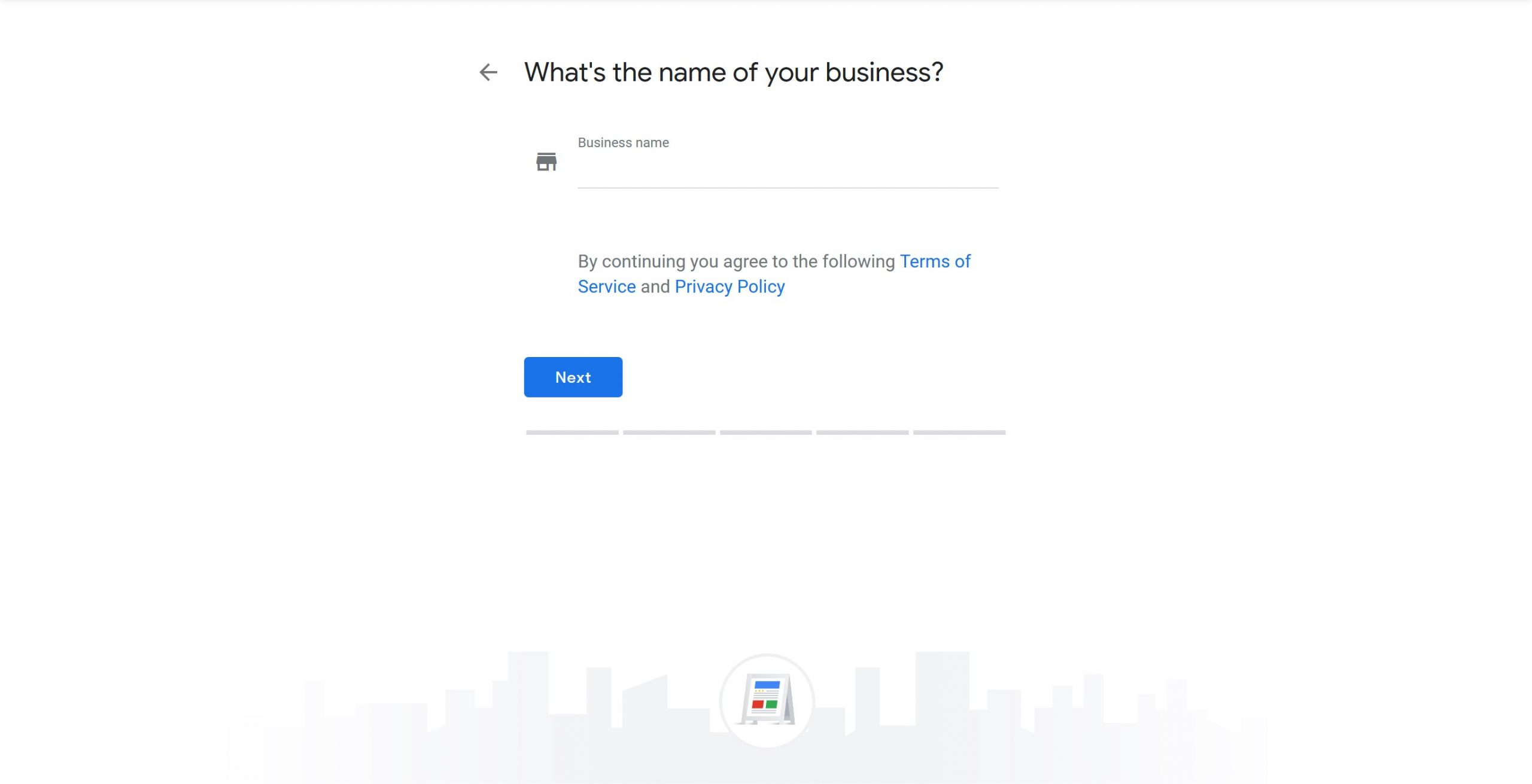 Google Business Profile Step 3