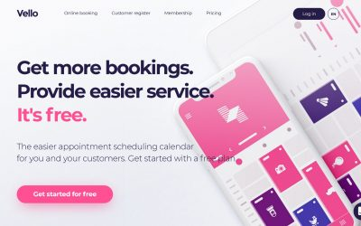 How to create an online booking page for free with Vello
